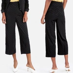 New Express High Rise Cropped Culottes Polka Dot